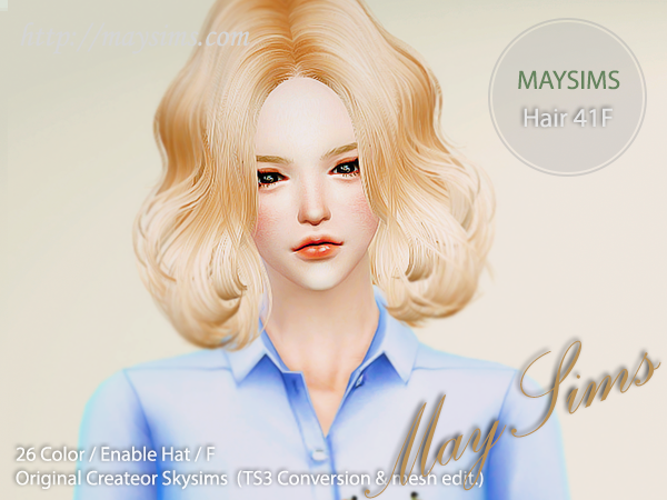 Hair41F by May Sims