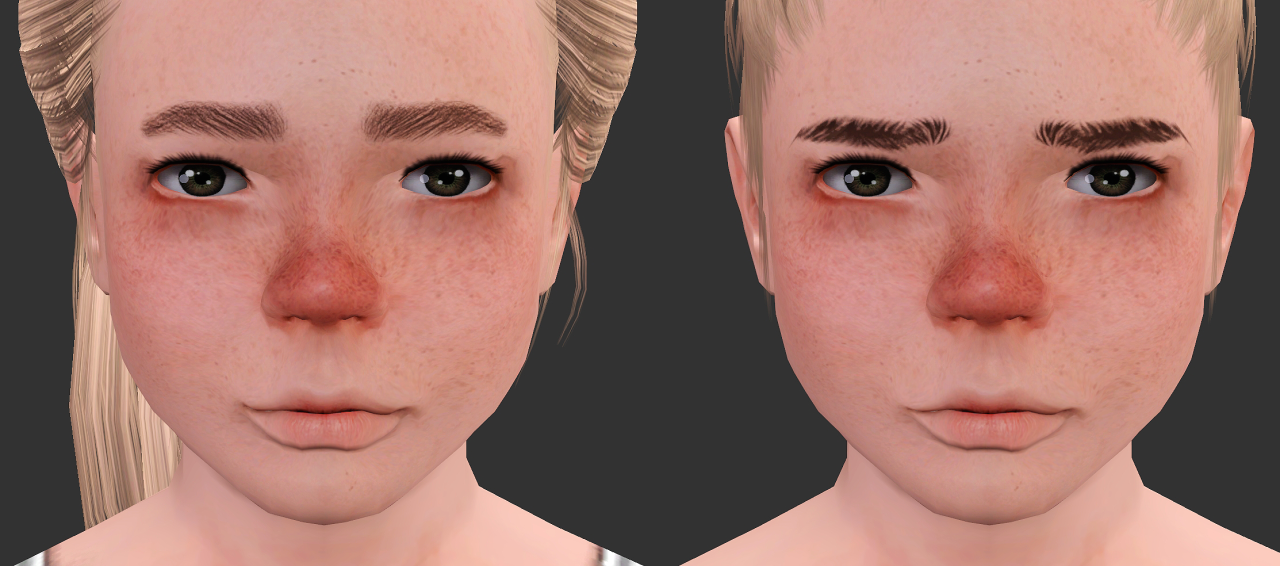Wintersun frecled skin by Simciety