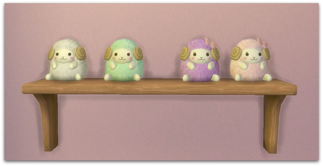 Cute Sheep Plushies by Nooboominicule