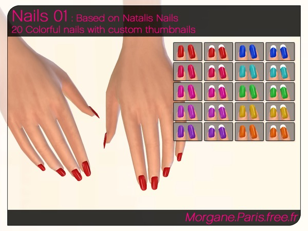 Nails 01 by MorganeParis