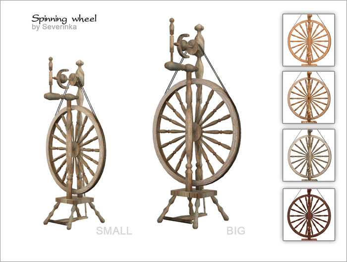 Spinning Wheel by Severinka