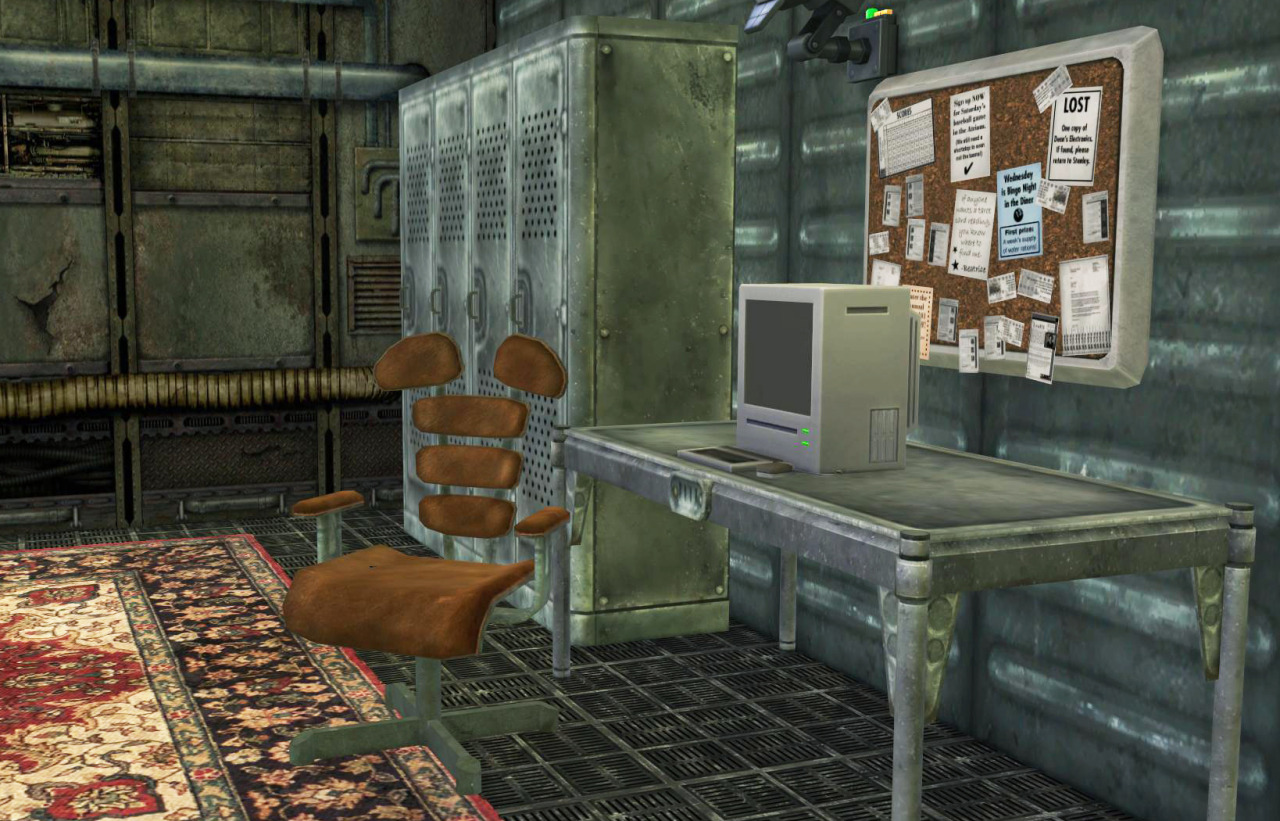 Fallout 3 Vault Bedroom Conversion by BrialImmortelle