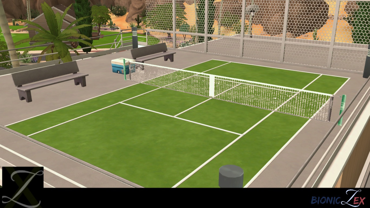 Tennis Court Net by Bioniczex