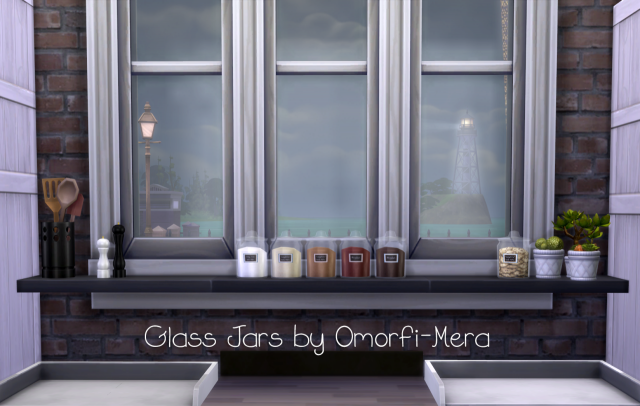 TS3 Glass Jars Conversions by OmorfiMera