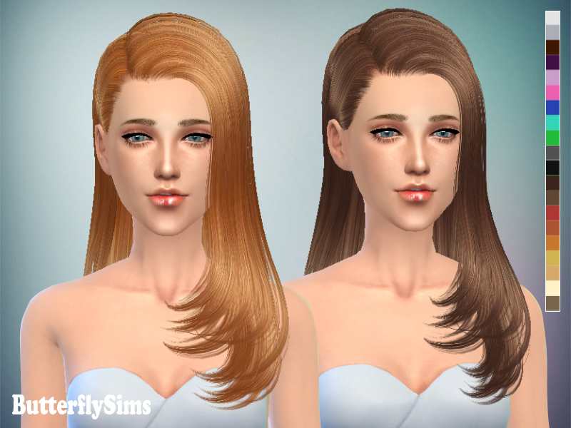 Hairstyle077 for Females by Butterflysims