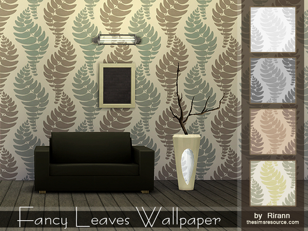 Fancy Leaves Wallpaper by Rirann