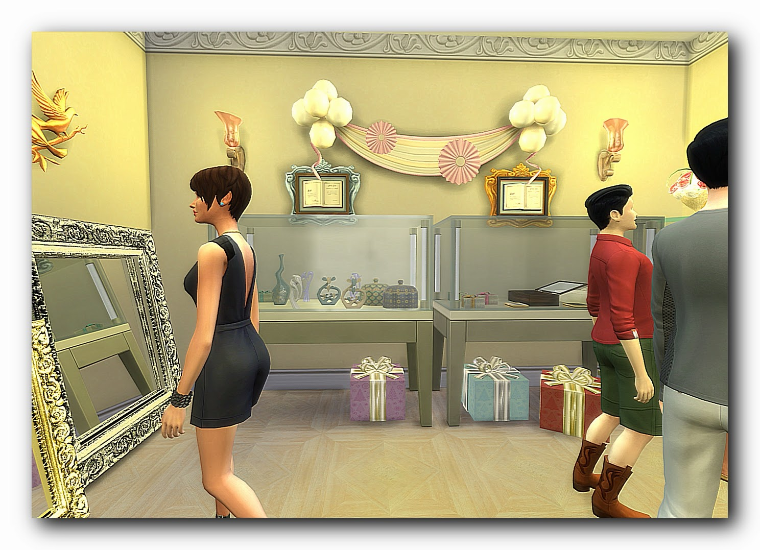 Wedding shopping by Dalila