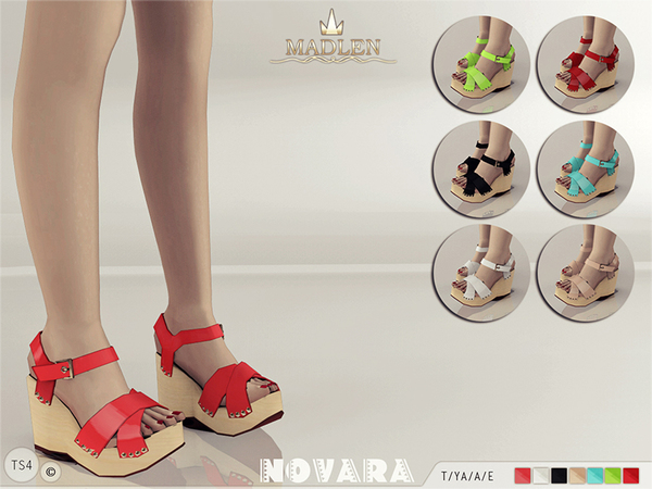 Madlen Novara Sandals by MJ95