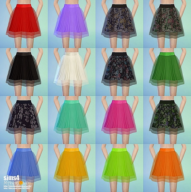 Chiffon Skirts by Marigold