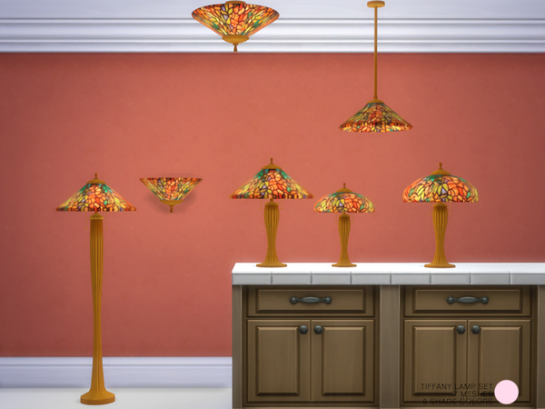 Tiffany Lamp Set by DOT