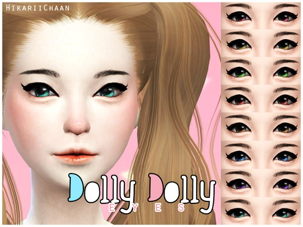 [HikariiChaan] Dolly Dolly Eyes by HikariiChaan