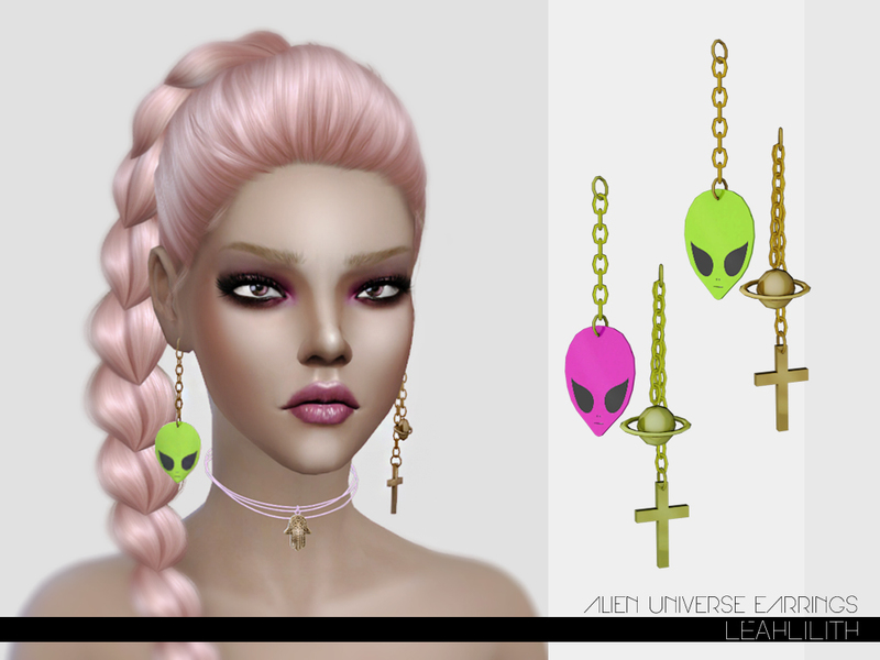 LeahLillith Alien Universe Earrings