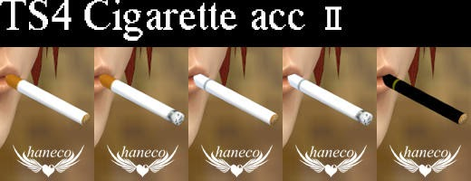 Accessory Cigarette and Poses by Haneco