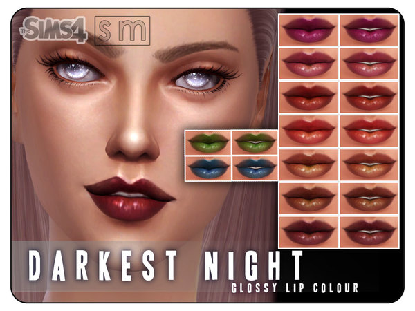 [ Darkest Night ] - Glossy Lip Colour by Screaming Mustard