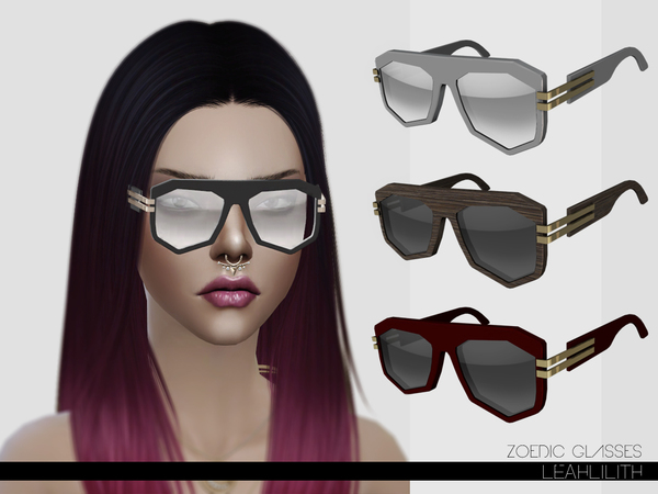 LeahLillith Zoedic Glasses by Leah Lillith