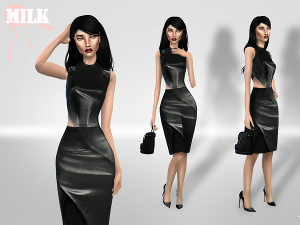 Leather Dress by M.i.l.k