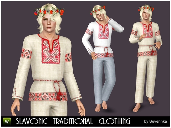 Slavonic national clothing by Severinka