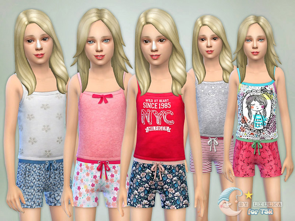Sleepwear Collection - Set G02 by lillka