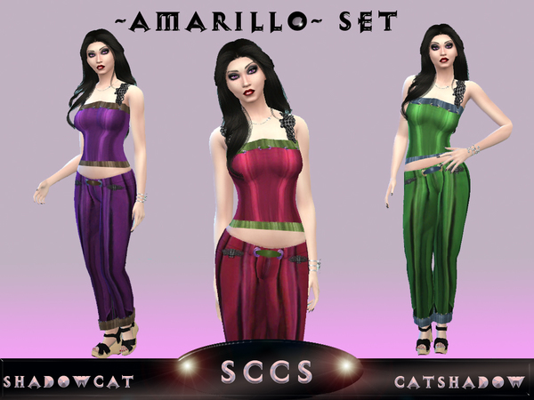 Amarillo Set by Shadowcat Catshadow