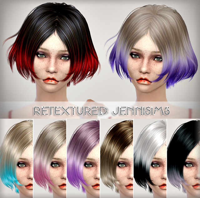 Newsea Vince Hair retextured by Jenni Sims