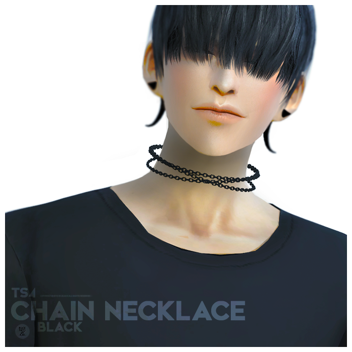 Chain Necklace by BlackLe
