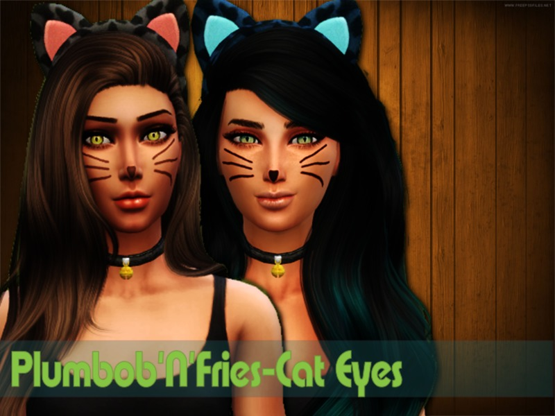Cat Eyes  BY Plumbobs n Fries