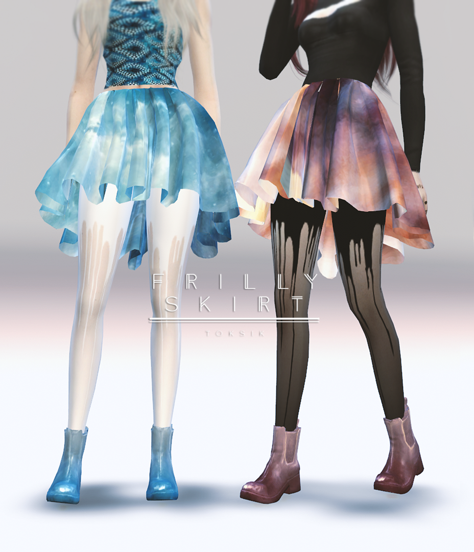 Frilly Skirt by TokSik