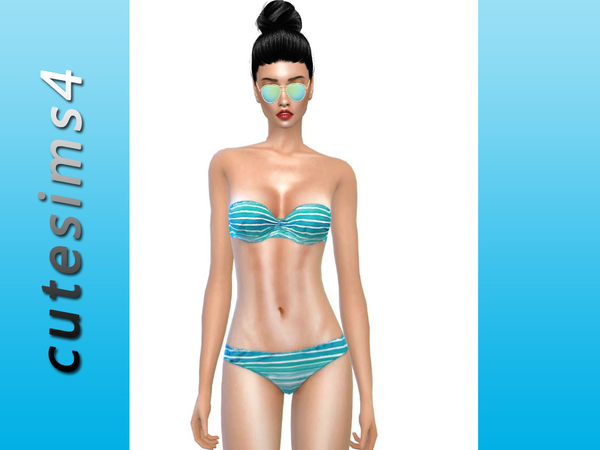 Beachwear_Bikini_Collection by sweetsims4