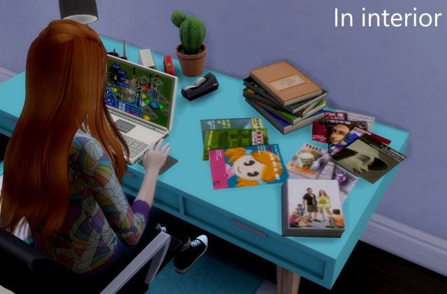 TS2 Books & Magazine Conversions by Tukete