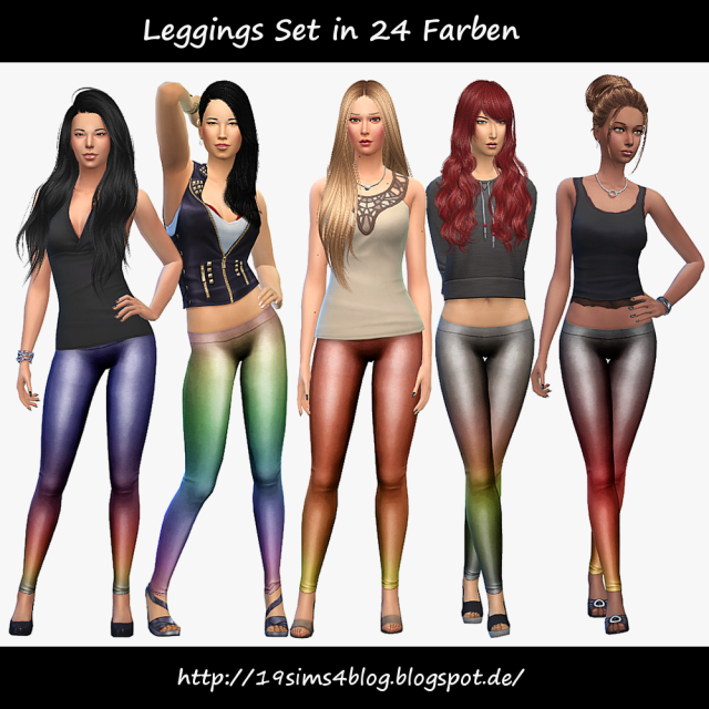 Leggings by MichaelaP