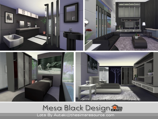 Mesa Black Design by autaki