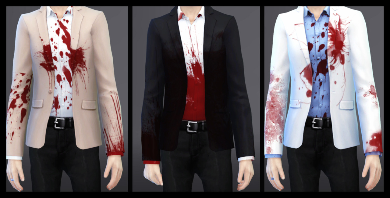 Bloody Jackets for Males by Azentase