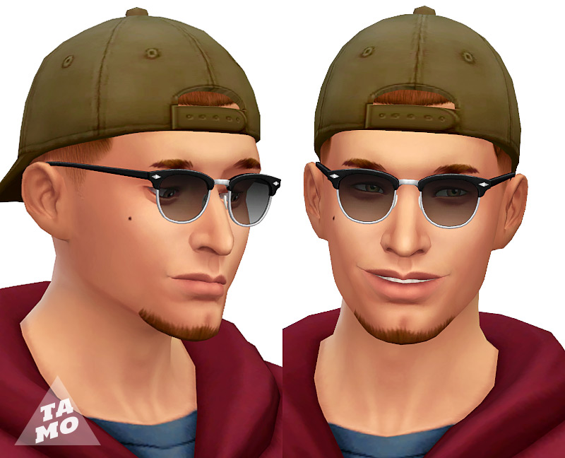 Simlish Clubmaster Sunglasses by Tamo