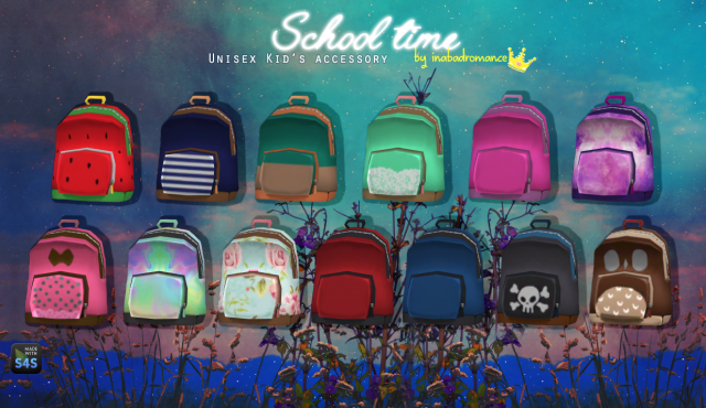 Backpacks for Kids by Inabadromance