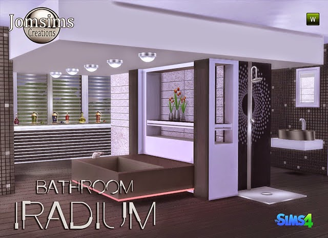 Iradium Bathroom Set by JomSims