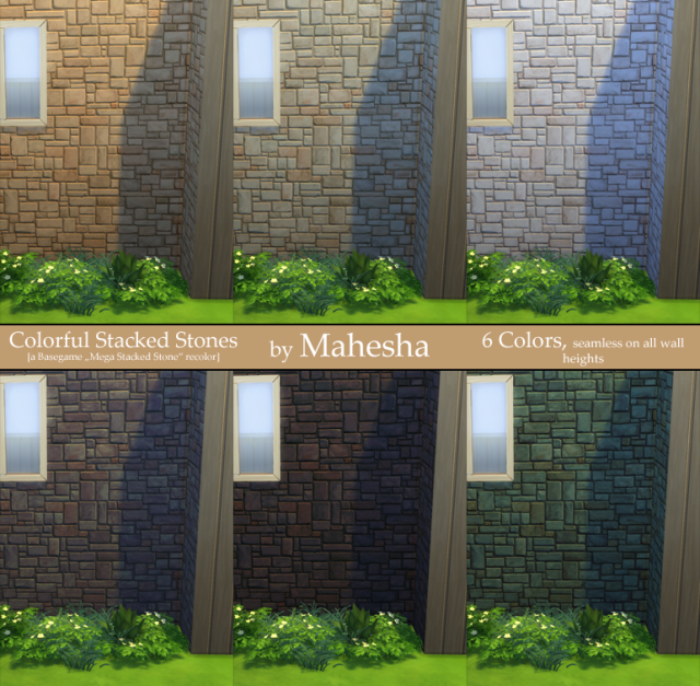 Colorful Stacked Stones Wallpaper by Mahesha