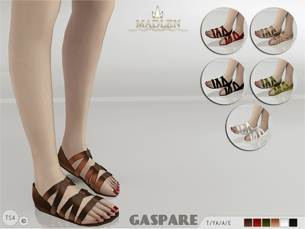 Madlen Gaspare Sandals by MJ95