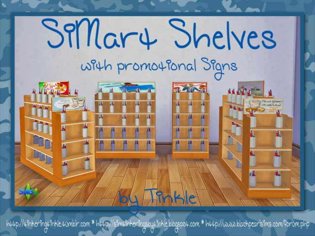 SiMart Shelves by Tinkle