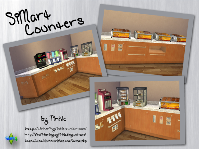 SiMart Counters by Tinkle
