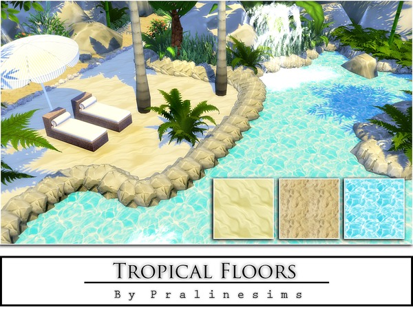Tropical Floors by Pralinesims