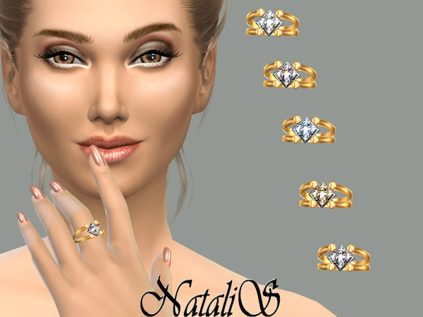 NataliS_Gentle crystal ring FA-FE