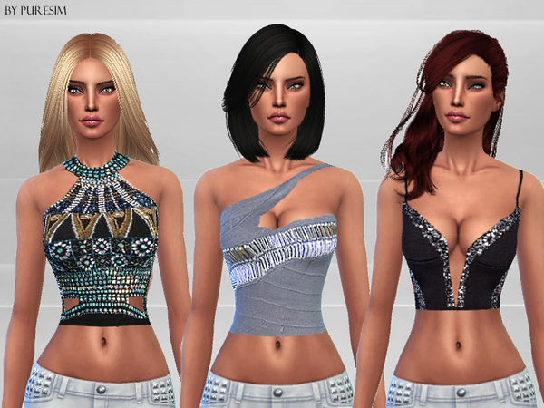 Embellished Tops by Puresim