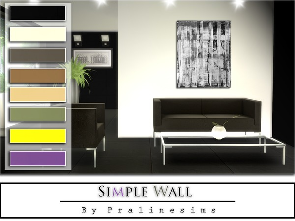 Simple Wall by Pralinesims
