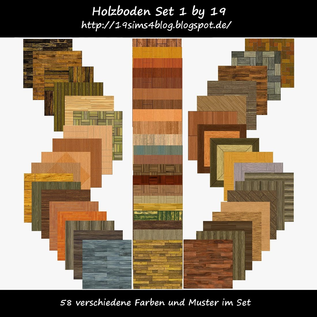 Holzboden Set 1 by 19 Sims 4 Blog
