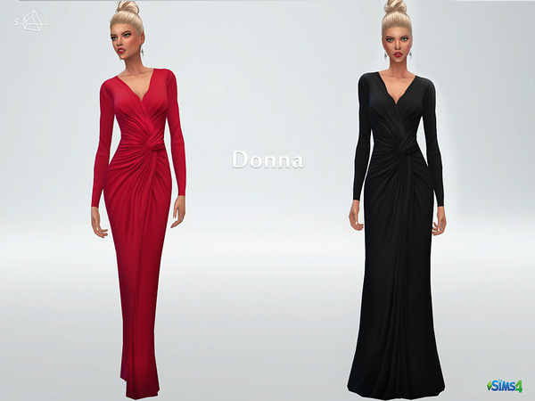 Twist-Knot Gown DONNA by starlord