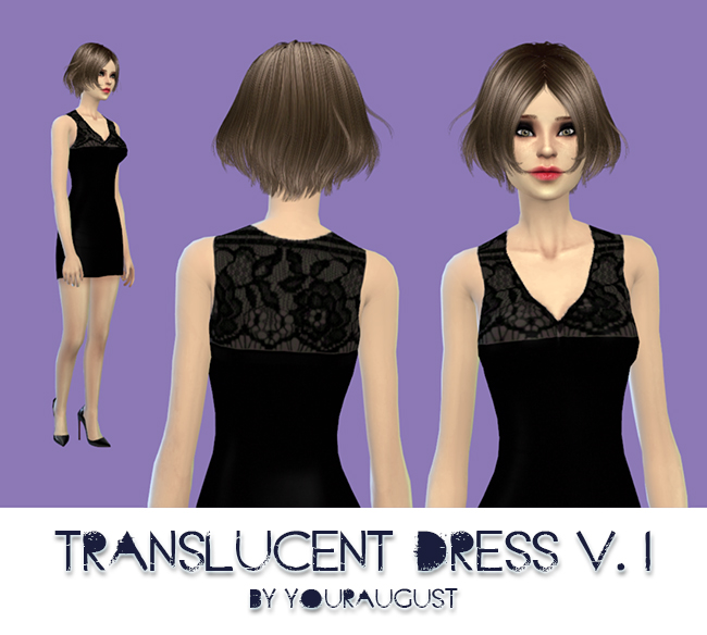 Translucent dress v1 by YourAugust
