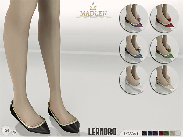 Madlen Leandro Flats by MJ95