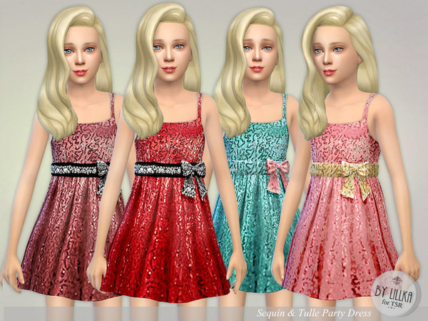 Sequin & Tulle Party Dress by lillka