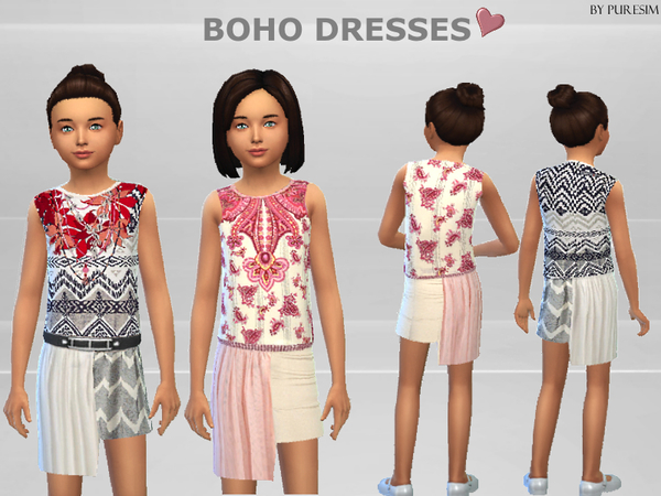 Boho Dresses by Puresim