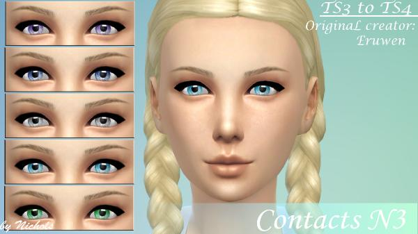 Convertation contacts N3 by Nichols